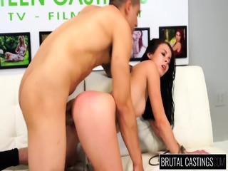Cutie Fucked Brutally At The Casting