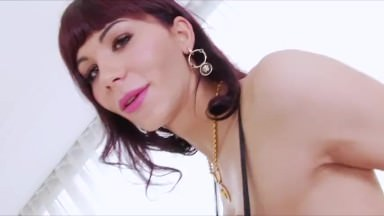 Hardcore transbabes Kai and Bailey in a hot anal sex together